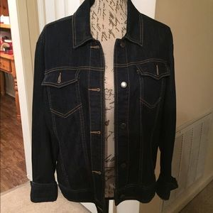 Brand New-The Limited Dark Denim Jacket
